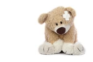Infant injury Teddy